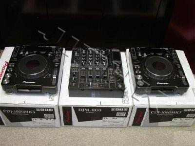 BRAND NEW NIKON D700,NIKON D300,2x PIONEER CDJ-1000MK3 & 1x DJM-800 MIXER DJ PAC 2