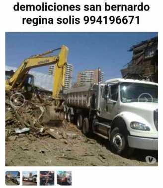 Retiro escombros en Chicureo 973677079 fletes mudanzas 6
