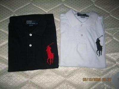 LACOSTE POLOS FOR SALE ARMANI AND RAULP-LAUREN 5