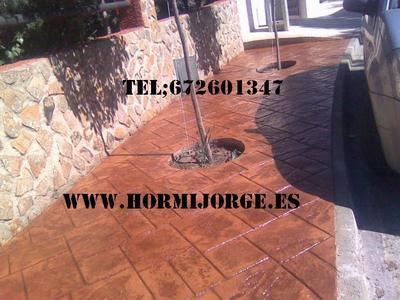 Hormigon Impreso en;Zamora 3